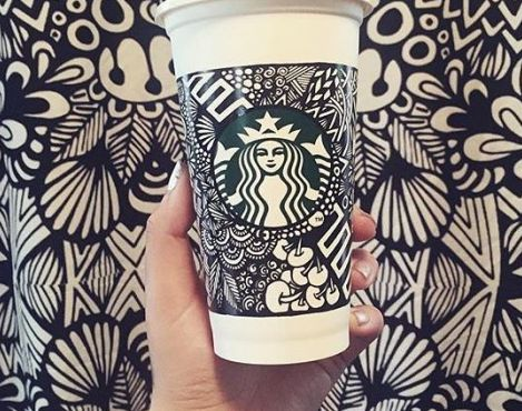 Starbucks' White Cup Contest